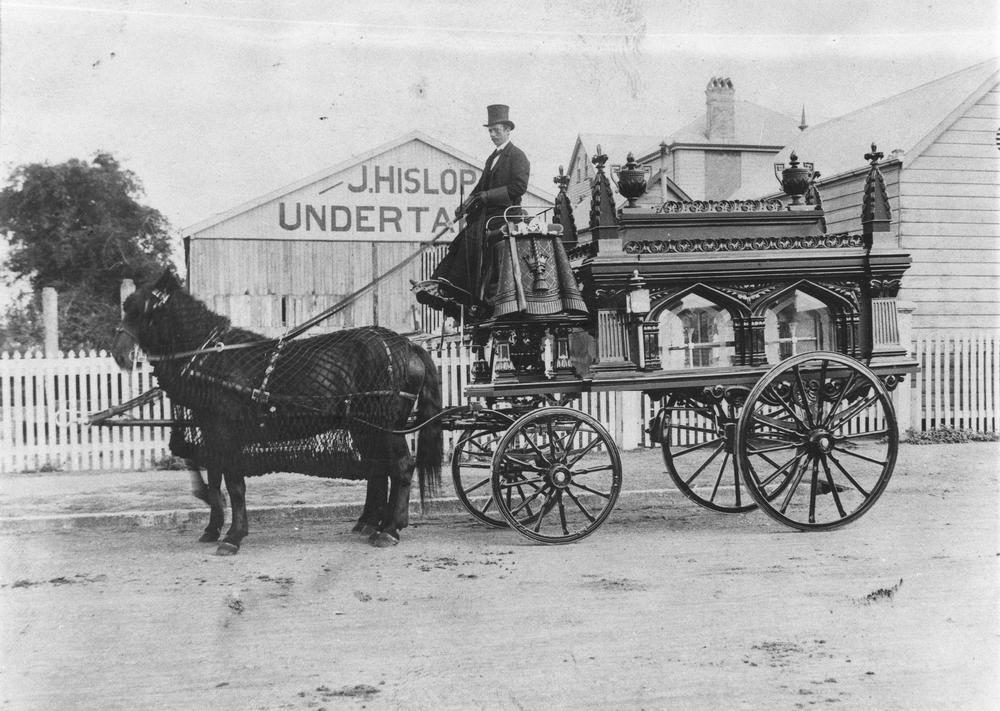 John Hislop Undertaker