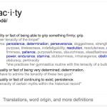 Tenacity vs. Pusillanimity
